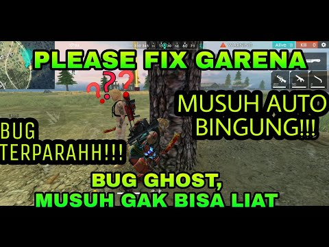TUTORIAL CARA BUG IMMORTAL GHOST FREE FIRE || TAK TERLIHAT MUSUH - FREE FIRE INDONESIA