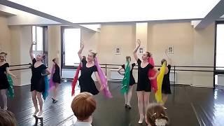 Итоговый экзамен по народному танцу за 7-й класс 09.04.2018. Ч. 2