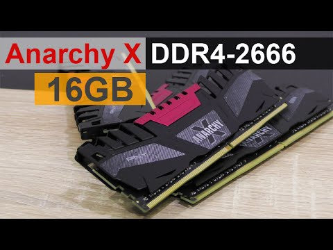 PNY Anarchy X 16GB DDR4-2666 Memory Review