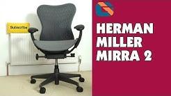 Herman Miller Mirra 2 Chair Review @hermanmiller #posture