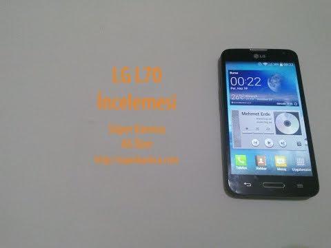 LG L70 Detaylı İncelemesi