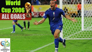 World Cup 2006 in Germany. All Goals HD.