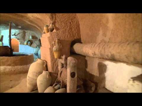 Matmata diar amor musée troglodyte exceptionnel sud tunisie.wmv