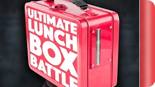 THE ULTIMATE LUNCH BOX BATTLE