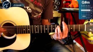 """Cómo tocar """"Crimen"""" de Gustavo Cerati en Guitarra Acústica (HD) Tutorial - Christianvib"""