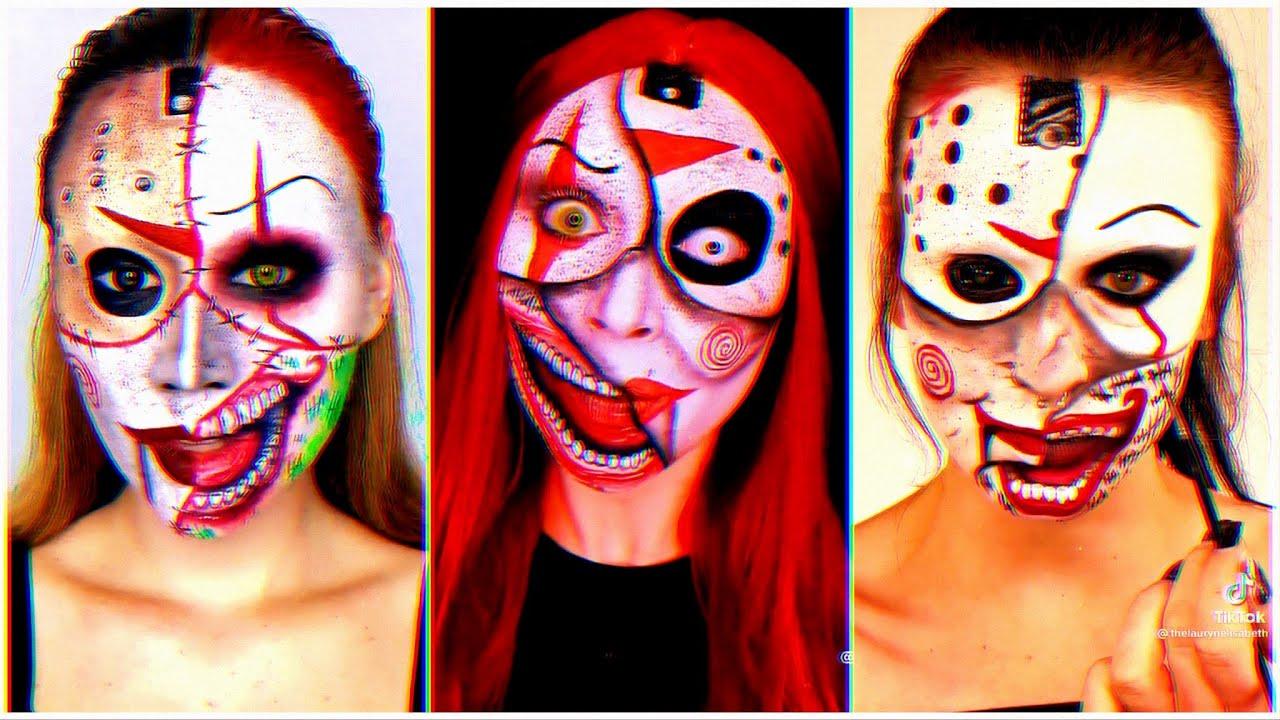 Joker Clown TikTok Makeup Challenge  |  TikTok Video