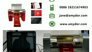 Newest Hot Selling Digital Foil Printer foil Stamping Machine gold Foil Printing Machine