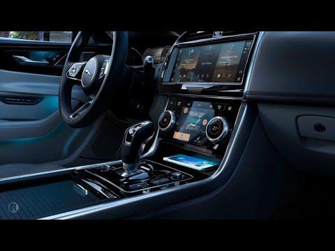 2021 Jaguar XE  The sports saloon walkaround video. Interior Design & Features.