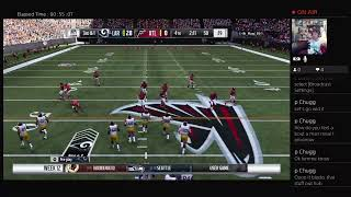 Win It All Madden Fantasy League Season 2 Week 12 Rams vs Falcons