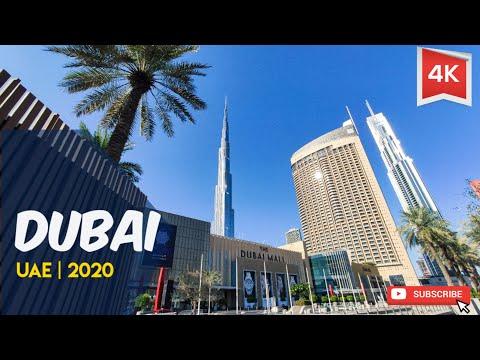 Dubai tour 2020 | Best places in UAE | Burj Khalifa | 4K