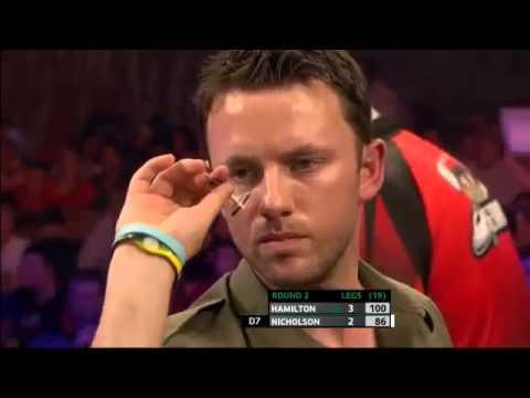 Andy Hamilton vs Paul Nicholson European Darts Championships 2013 Second Round