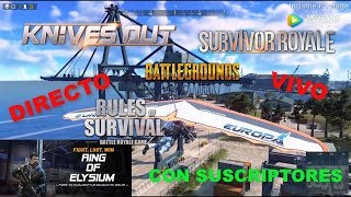 KNIVES OUT PC   NUEVO SERVER AMERICA FLUIDO, BAJO PING   COMUNIDAD HISPANA KNIVES OUT AND ROE