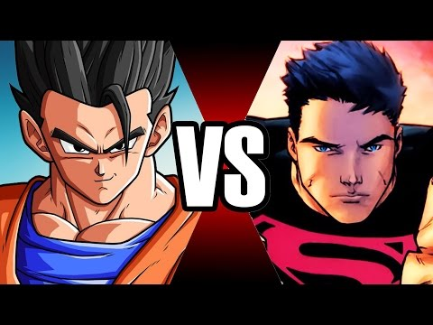 GOHAN VS SUPERBOY | BATALHA MORTAL | Ei Nerd