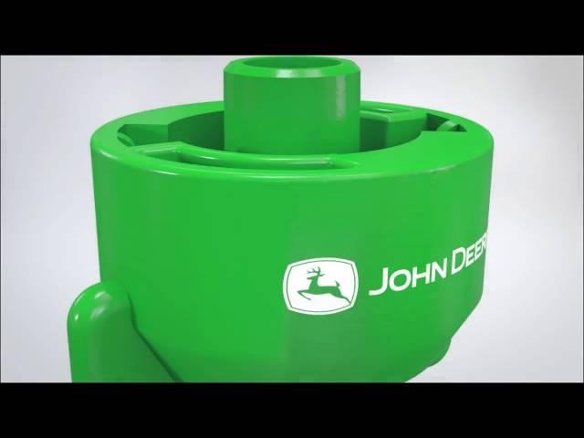 Форсунки John Deere для внесення досходових добрив