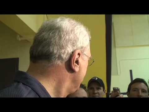 Lakers guard Kobe Bryant and Coach Phil Jackson on Kurt Rambis coaching the Minnesota Timberwolves