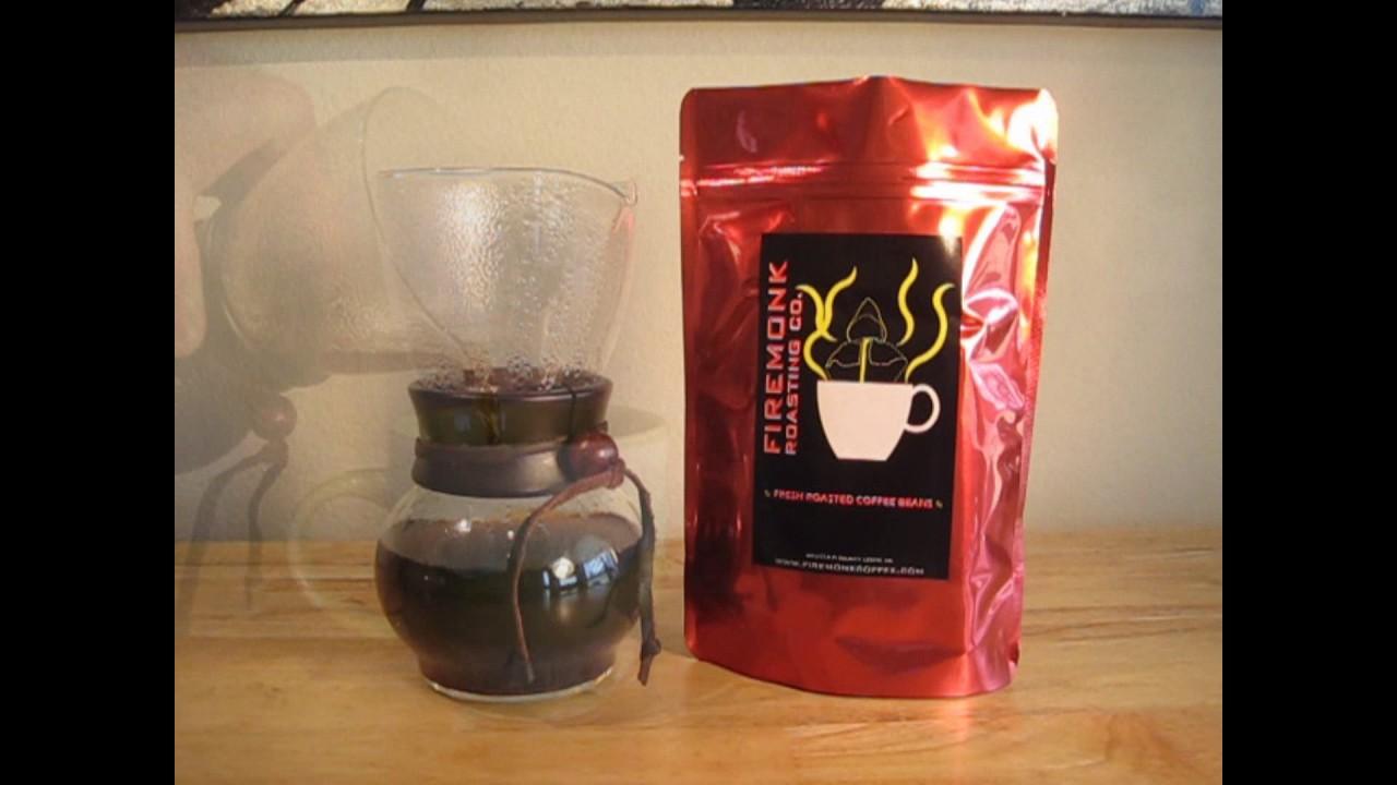 Hario woodneck coffee drip pot - Hario Drip Pot Brew Method