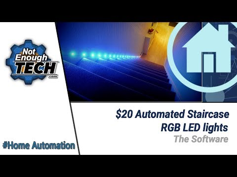 $20 Automated Staircase Lights: SOFTWARE (3/3)