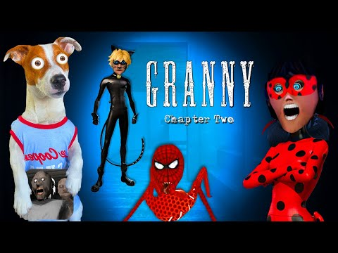 Гренни это Леди Баг 🐞 Granny: Chapter Two [Леди баг и Супер кот] ► Прохождение + приколы