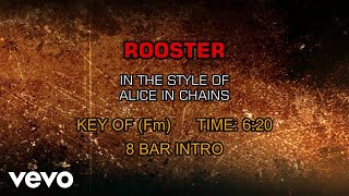 Alice In Chains - Rooster (Karaoke)