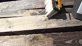 БиоЩит - отбеливатель для дерева и древесины - YouTube