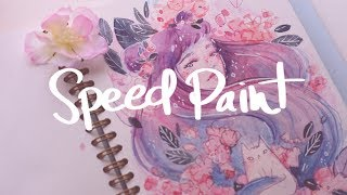 Speed Paint - Flower girl #2 ~