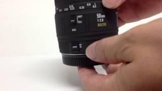Selling Sigma 50mm F2.8 EX Macro 1:1 Canon EF mount lens