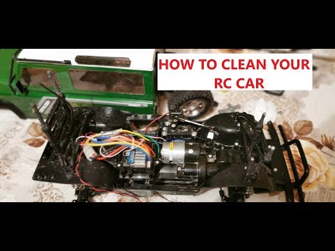 How to Clean Your RC Car RC Beginner