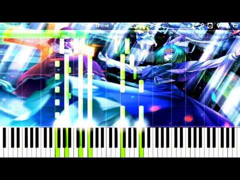 東方ピアノ楽譜「Reincarnation」中級~上級アレンジ[Touhou Project]
