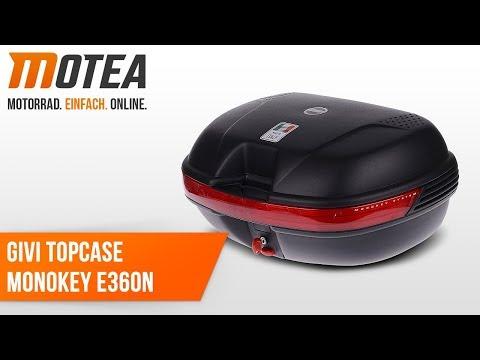 Givi e360/N deluxe-monokey top-case
