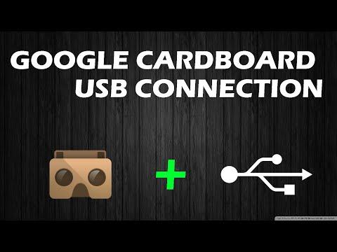 TUTORIAL GOOGLE CARDBOARD CONEXION USB