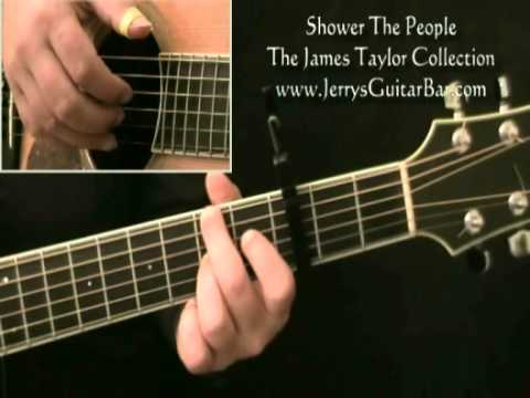How To Play James Taylor Shower The People 1st Section Youtube