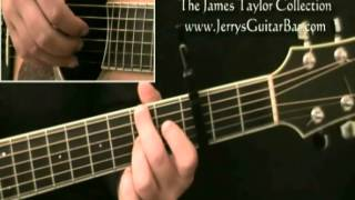 How To Play James Taylor Shower The People 1st Section