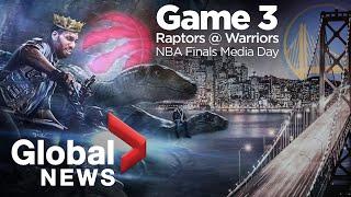 NBA Finals: Raptors vs. Warriors Game 3 Media Day
