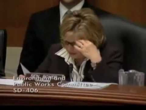 "SENATOR Barbara Boxer In Her Own Words ""Call me Senator"".flv"