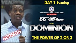 Pastor EA Adeboye Sermon  RCCG 2018 HOLY GHOST CONVENTION_ Day1- Evening