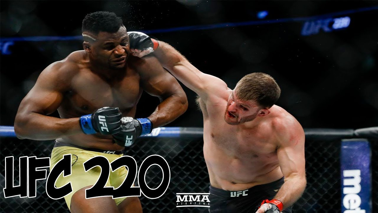 UFC 220: Miocic vs Ngannou / МИОЧИЧ vs. НГАННУ - Highlights