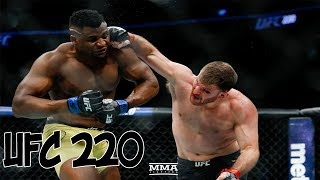 Stipe Miocic vs Francis Ngannou   HIGHLIGHTS   UFC 220