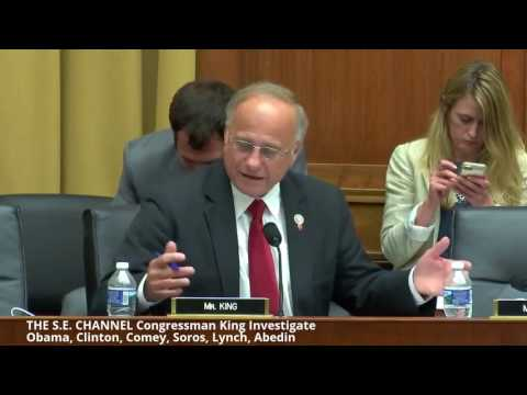 """Rep King EXPLODES """" Investigate Obama, Clinton, FBI COMEY and Abedin"""