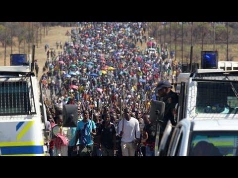 Platinum Miners and Class Struggle in South Africa