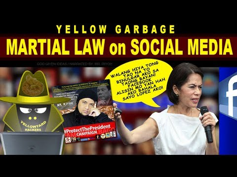 Martial Law on Social Media - Mr  Riyoh