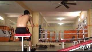 Un día en la vida de un boxeador.