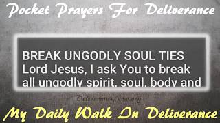 DELIVERANCE PRAYERS TO CAST OUT DEMONS