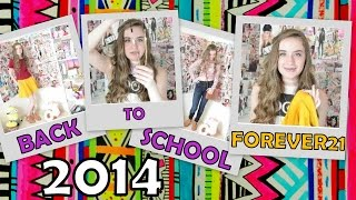 BACK TO SCHOOL 2014: Clothing Haul | Forever21 Thumbnail