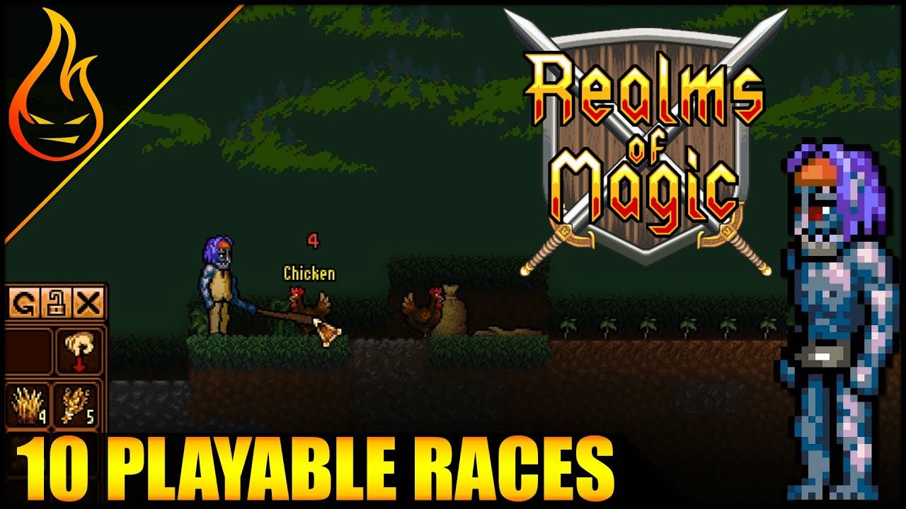 Not Terraria Not Starbound Its Realms Of Magic