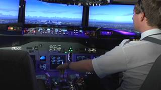 Sim Center Tampa Bay Boeing 737, F-16 and F-35 real size flight simulators home built simulators