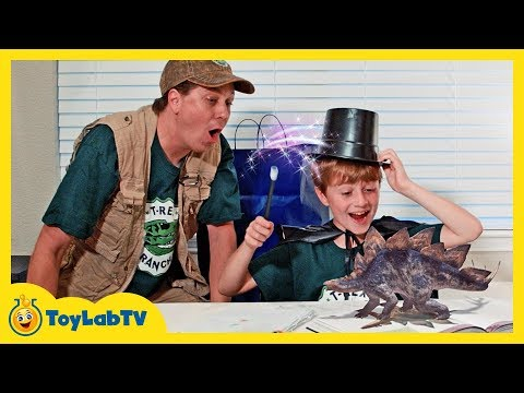 Dinosaurs Are Alive! Giant Life Size Dinosaur Raptor & Triceratops Surprise Adventure for Kids