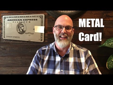Amex Platinum Card CANADA - Now METAL! - Review