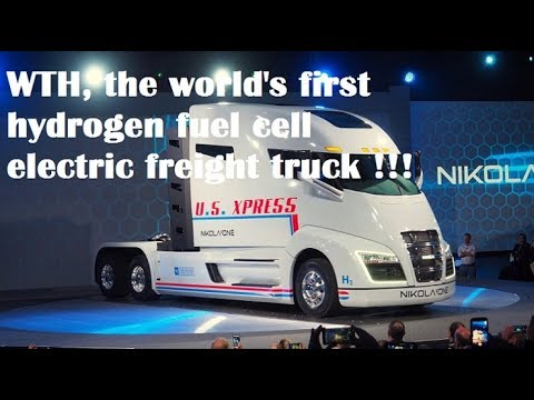 Bosch partners with Nikola on hydrogen electric long haul truck