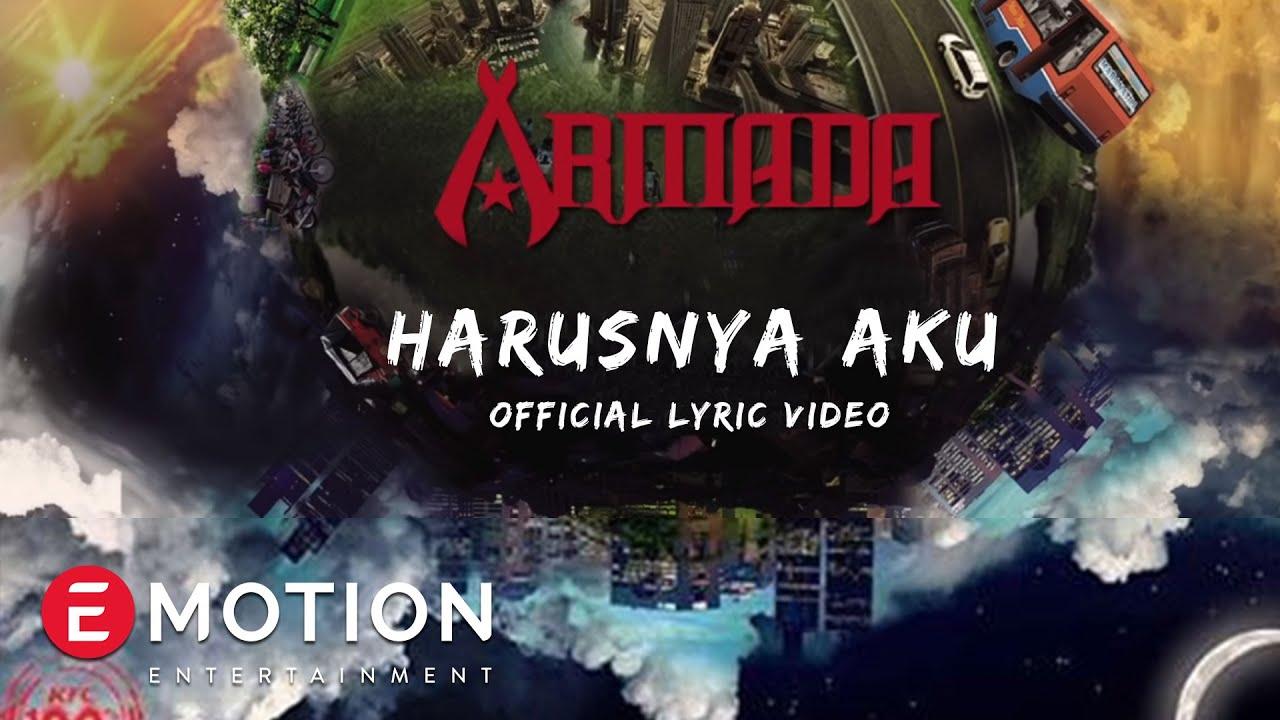 armada harusnya official lyric video youtube