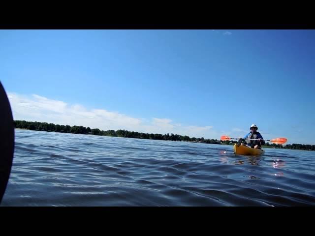 Tetra 12 Ocean Kayak sur la rivière des Outaouais